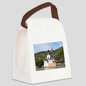 Pfalzgrafenstein Castle, Rhine Ri Canvas Lunch Bag