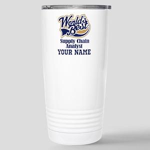 Supply Chain Analyst Personalized Gift Travel Mug