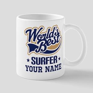 Surfer Personalized Gift Mugs