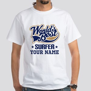 Surfer Personalized Gift T-Shirt