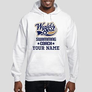Swimming Coach Personalized Gift Sweatshirt