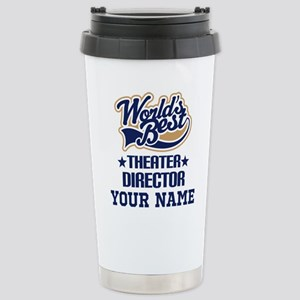 Theater Director Personalized Gift Travel Mug