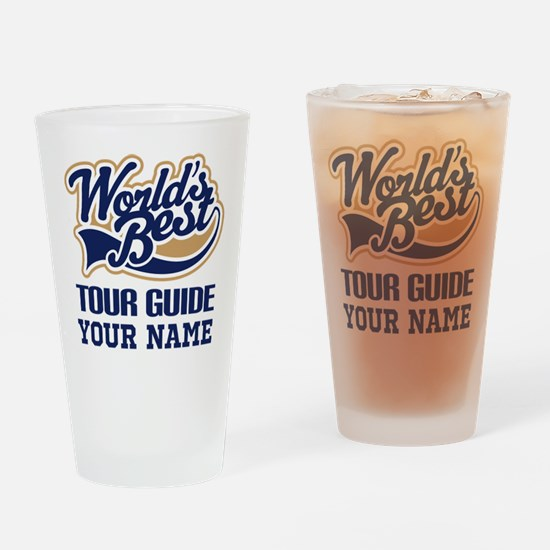 Tour Guide Personalized Gift Drinking Glass