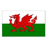 Welsh flag Single