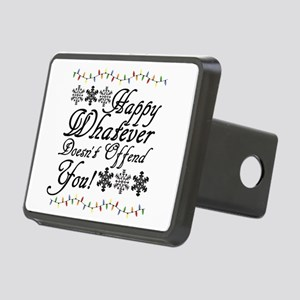 Happy Whatever Doesn't Off Rectangular Hitch Cover