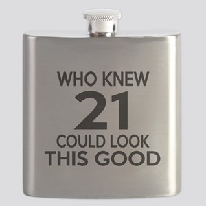 Who Knew 21 Could look This Good Flask