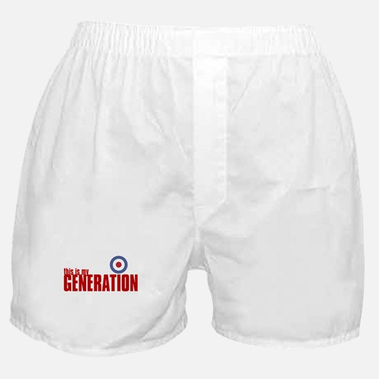 MY GENERATION Boxer Shorts