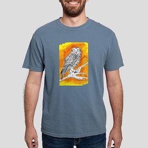Owl on Orange T-Shirt