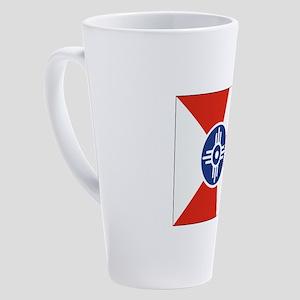 Wichita ICT Flag 17 oz Latte Mug