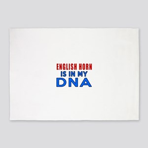 English Horn Is In My DNA 5'x7'Area Rug