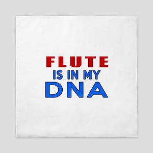 flute Is In My DNA Queen Duvet