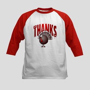Thanksgiving Day Turkey Baseball Jersey