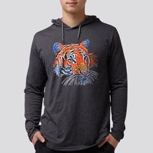 Orange Tiger Long Sleeve T-Shirt