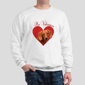 Dachshund Valentine Sweatshirt