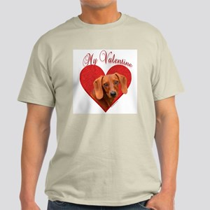 Dachshund Valentine Light T-Shirt