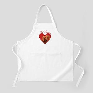 Dachshund Valentine BBQ Apron
