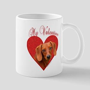 Dachshund Valentine Mug