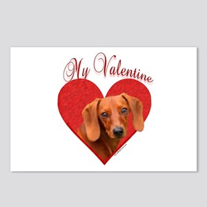 Dachshund Valentine Postcards (Package of 8)