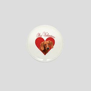 Dachshund Valentine Mini Button