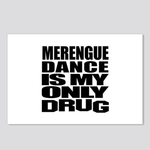 Merengue Dance Is My Only Postcards (Package of 8)