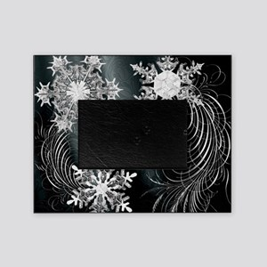 Harvest Moons Crystal Flakes Picture Frame