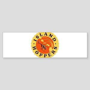 Island Hoppers Bumper Sticker