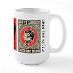 Chairman Meow - Cat Revolution Large Mug Mugs