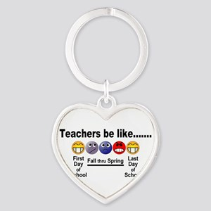 Teachers Be Like Keychains