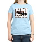 Rat Rods Rule Women's Light T-Shirt