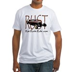 Rat Rods Rule Fitted T-Shirt