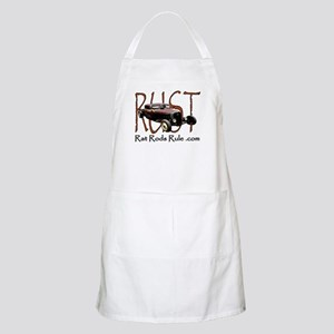 Rat Rods Rule BBQ Apron