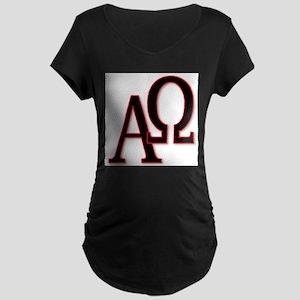 Alpha and Omega Maternity T-Shirt