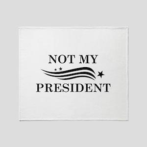 Not My President Stadium Blanket