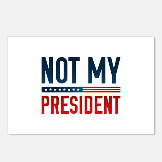 Not My President Postcards (Package of 8)