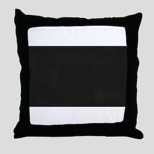 Blank Blackboard Throw Pillow