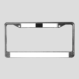 Blank Blackboard License Plate Frame