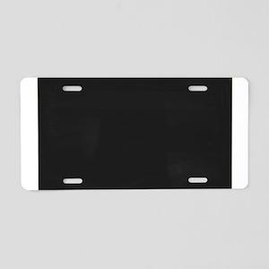 Blank Blackboard Aluminum License Plate