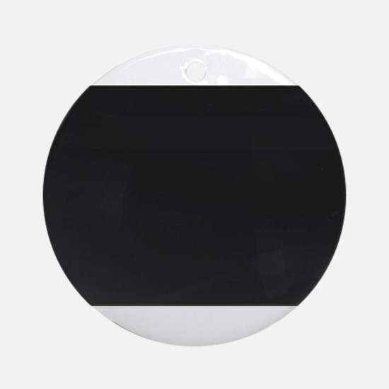 Blank Blackboard Round Ornament