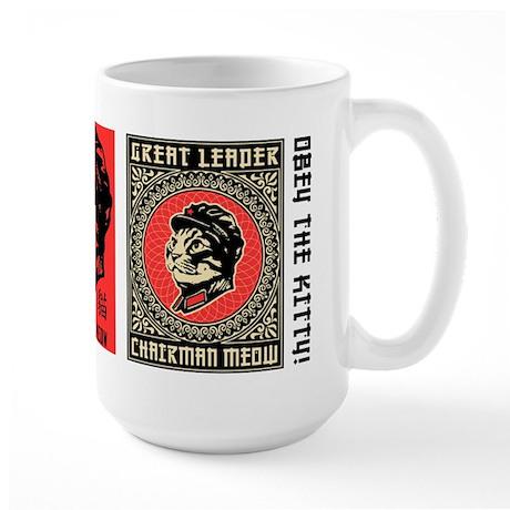 Chairman Meow - Cat Revolution Large Mug