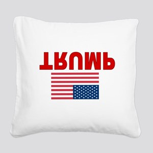TRUMP Square Canvas Pillow