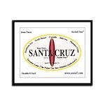 Santa Cruz Framed Panel Print