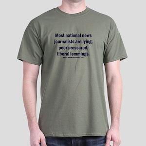 Scum Journalists Dark T-Shirt