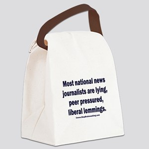 Scum Journalists Canvas Lunch Bag