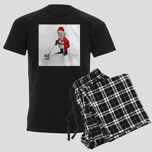 Golfing Santa Claus Pajamas
