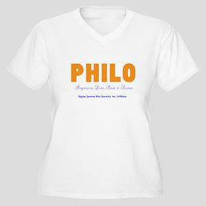 Philo Affiliate Plus Size T-Shirt