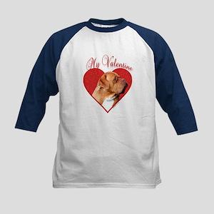 Dogue Valentine Kids Baseball Jersey