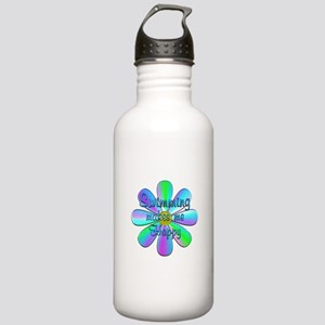 Swimming Happy Stainless Water Bottle 1.0L