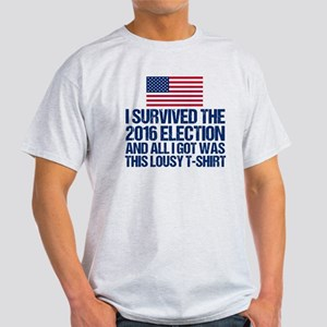 Survived Election Light T-Shirt