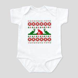 Christmas beer Infant Bodysuit