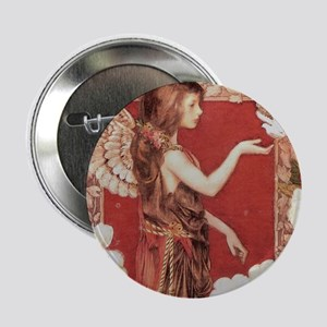 A Red Angel Button
